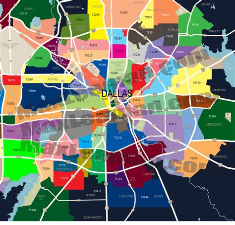 zip code map dallas county dallas zip code map zipcode map dallas dallas zipcode map