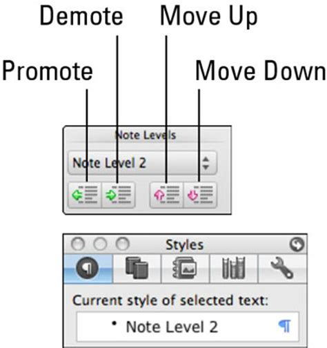 notebook layout word for windows using notebook layout view in word for mac 2011 dummies