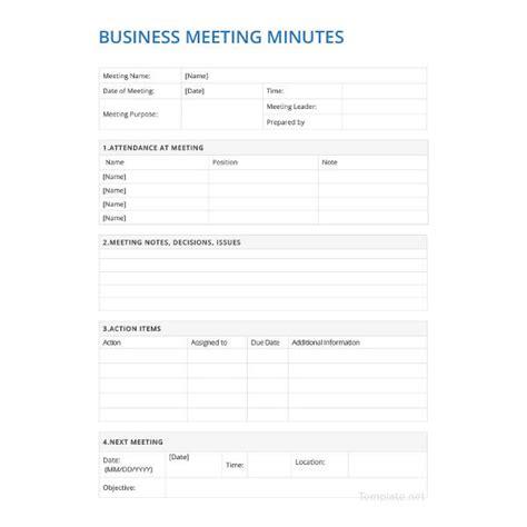 21 Meeting Minutes Templates Pdf Doc Free Premium Templates Corporate Minutes Template Pdf