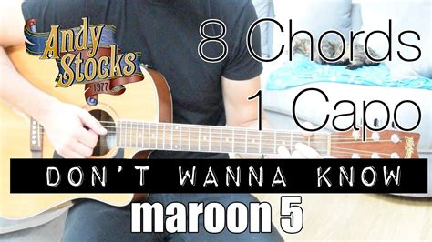 tutorial do i wanna know don t wanna know maroon 5 guitar lesson tutorial youtube