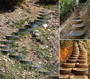 treppe anlegen gartentreppe selber bauen 35 inspirationen freshouse