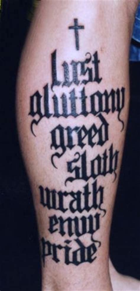 seven deadly sins tattoo design 1000 images about the seven deadly sins on
