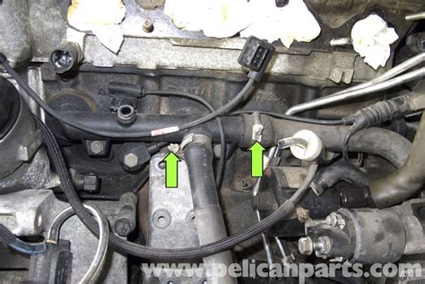bmw 316i e36 m43 164e2 coolant drain and replace water bmw z3 coolant pipes replacement 1996 2002 pelican