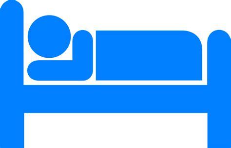 bett schlafen kostenlose vektorgrafik bett icon schlafen stickman