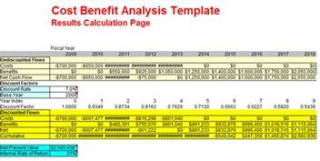 Cost Benefit Analysis Powerpoint Template by Cost Benefit Analysis Exles For Excel Ppt And Pdf