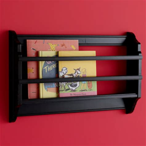 Espresso Book Rack by Wall Pegs And Racks Room Decor