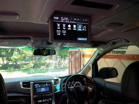 Monitor Mobil Avanza review toyota alphard g anh20w 2014 non atpm serayamotor