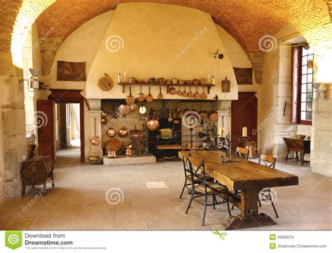 ancient kitchen  chateau de pommard winery royalty