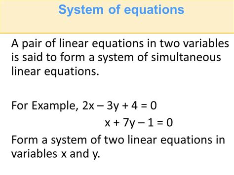 Linear Inequalities In Two Variables Word Problems Worksheet by 28 Simultaneous Linear Equations In Two Variables