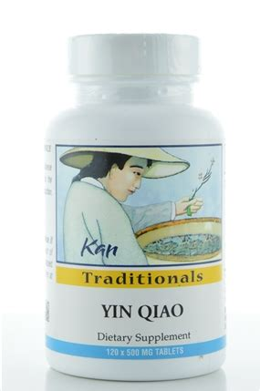 supplement yin yin qiao 120 tablets kan herbs traditionals