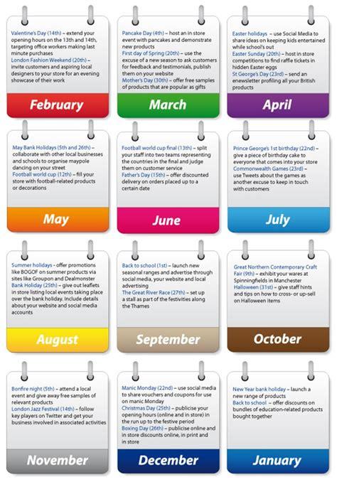 Retail Calendar Maximising Seasonal Events For Retailers