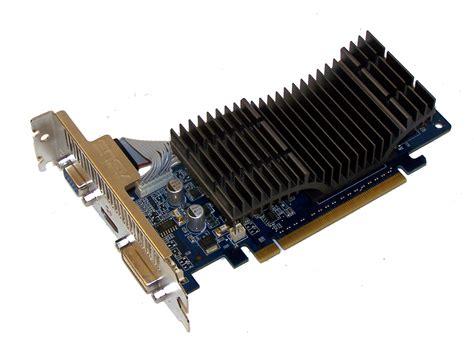 Vga Card Asus 210 Silent asus en210 silent di 512md2 eu lp geforce 210 512mb pcie x16 graphics card ebay
