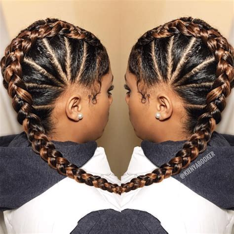 Braided Hairstyles For Black Hair by Braided Hairstyle Ideas Inspiration For Black