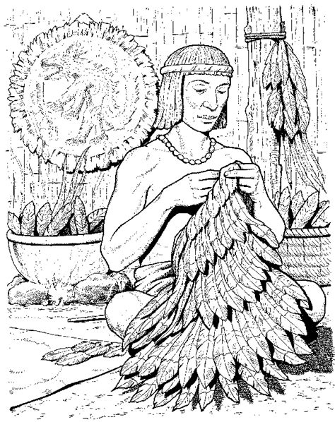 Free Coloring Pages Of Aztec Inca Maya Aztec Coloring Pages