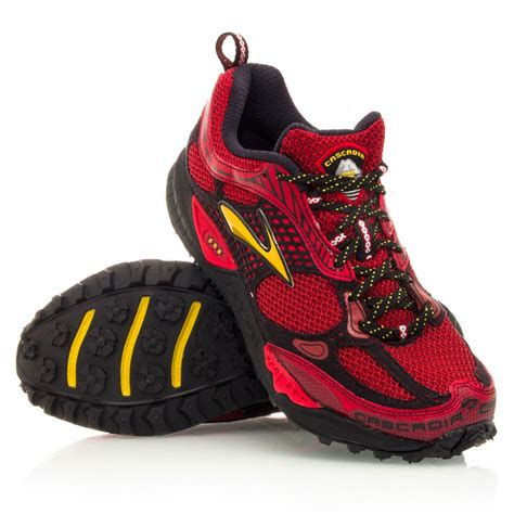 Ardiles Malovic Black Yellow Running Shoes cascadia 6 mens trail running shoes yellow black sportitude