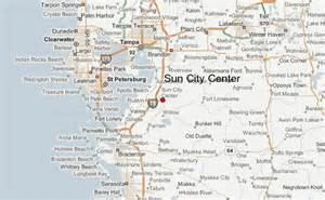Sun City Florida Map by Sun City Center Location Guide