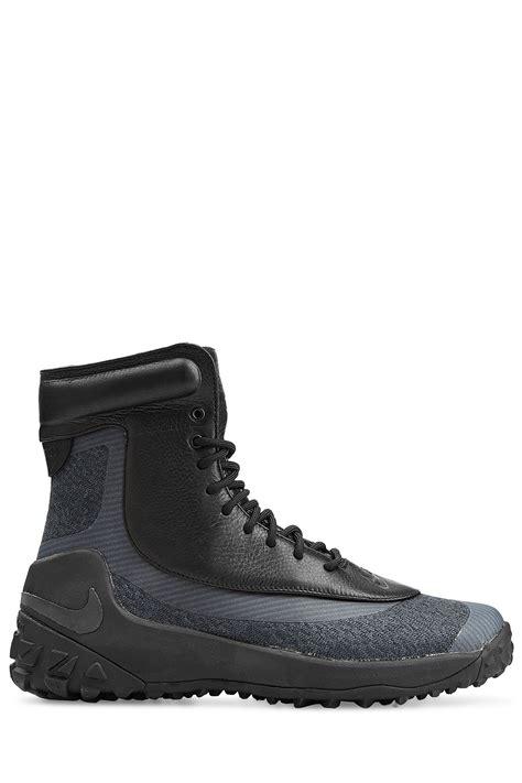 nike waterproof boots nike zoom kynsi jacquard waterproof boots in black for