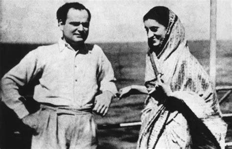 biography feroze gandhi biography of indira gandhi indian political leader