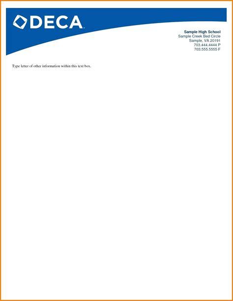 free sample business letterhead best of sample letterhead template