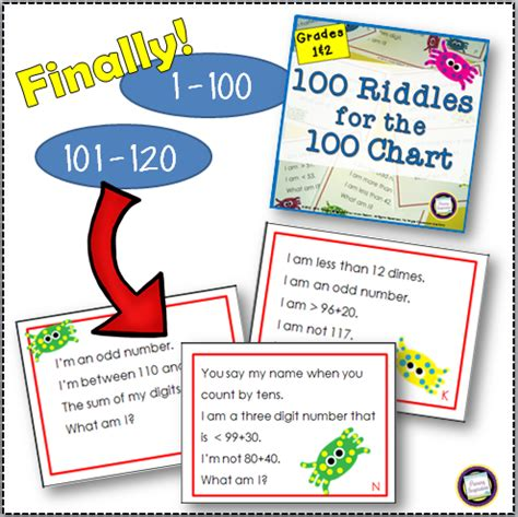 101 games pattern riddle primary inspiration riddles for the hundred chart now