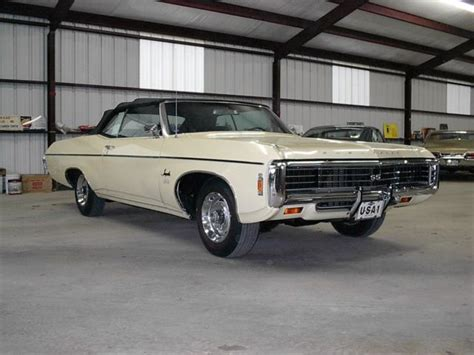 1969 chevy impala ss 427 for sale 1969 impala 427 ss convertible