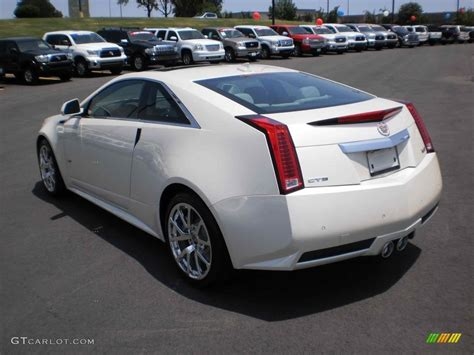 White Cadillac Cts by 2011 Cadillac Cts Coupe White White Tricoat 2011