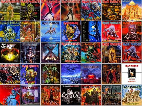 New Homemaiden Collection by Discography Eddie S Lair The Iron Maiden Wiki Fandom