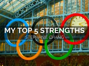 Greatest Strengths Mba by My Top 5 Strengths By Chang