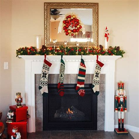 how to decorate a mantle with nutcrackers pretty mantel ideas different shapes mantels and mantles
