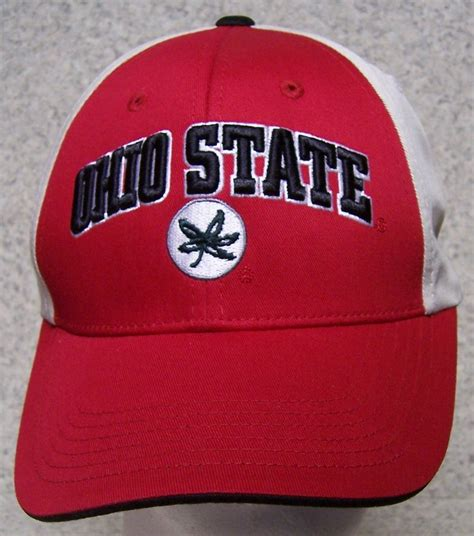 embroidered baseball cap ncaa ohio state buckeyes new 1