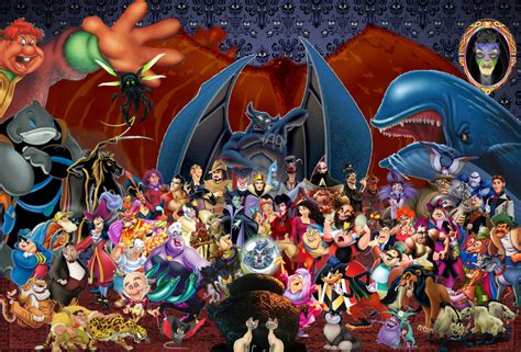 disney wallpaper deviantart disney villains wallpaper by disneyfreak19 on deviantart