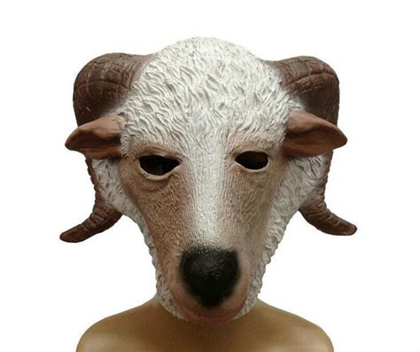 Masker Kambing kartun kambing mask beli murah kartun kambing mask lots from china kartun kambing mask suppliers