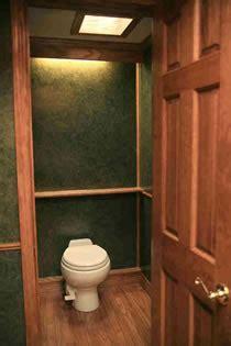 Presidential Series Luxury Washroom Trailers: Deluxe