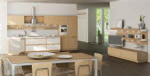 Oak Kitchen Designs by Light Oak Wooden Kitchen Designs Digsdigs
