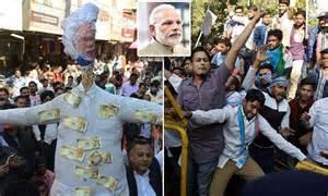 modi s attack on black modi s surgical strike on black money backfiring as