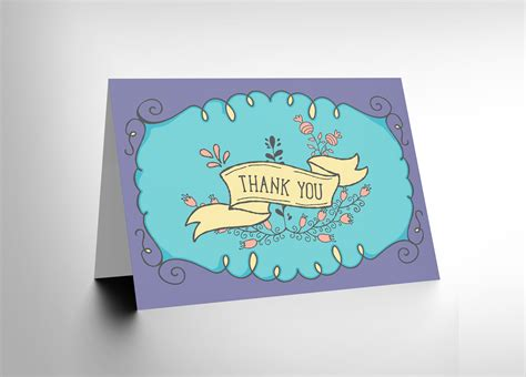 thank you scroll new art greetings gift card cl1420 ebay - Ecard Gift Cards