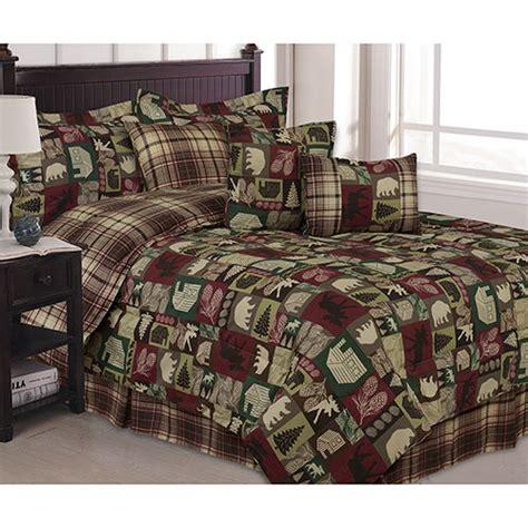 Patchwork Comforter Sets - saranac patchwork 7 comforter set boscov s