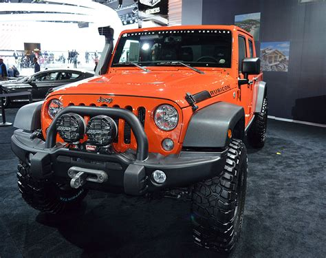 2019 Jeep Wrangler La Auto Show by 2019 Jeep Wrangler Ready For Auto Show New And Trucks