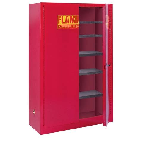 Paint Storage Cabinets Sandusky 65 In H X 43 In W X 18 In D Steel Freestanding Paint And Ink Storage Safety Cabinet