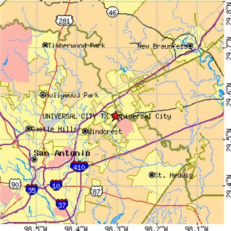 selma texas map universal city texas tx population data races housing economy