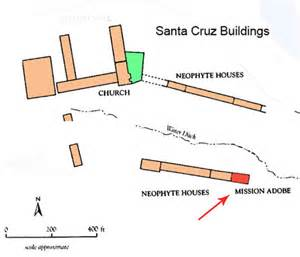 layout of santa cruz california missions resource center