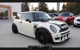 Souped Up Mini Cooper 2006 Mini Cooper S Custom Jcw Start Up Exhaust And In