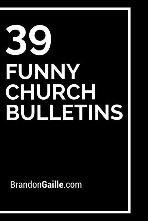 39 Funny Church Bulletins   Funny, Church and Church bulletins