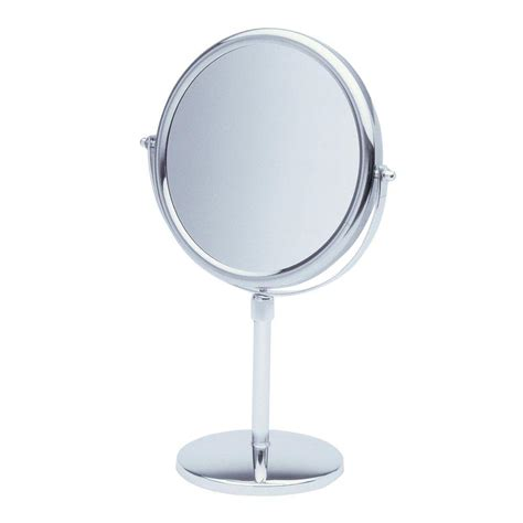 makeup mirror stand with lights stand up vanity mirror home design plan