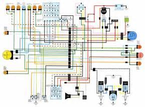 honda cb500t electrical wiring diagram circuit wiring diagrams