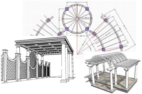 house structures designs custom pergola garden structure designs