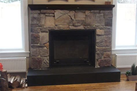 study fireplace surround cultured
