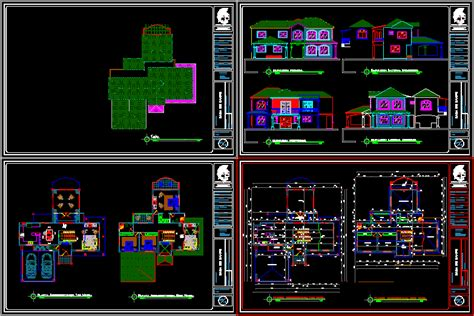 country house dwg block  autocad designs cad