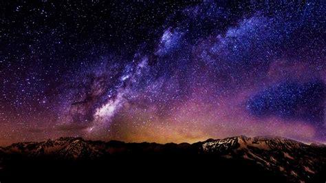 galaxy wallpaper landscape image gallery starry galaxy