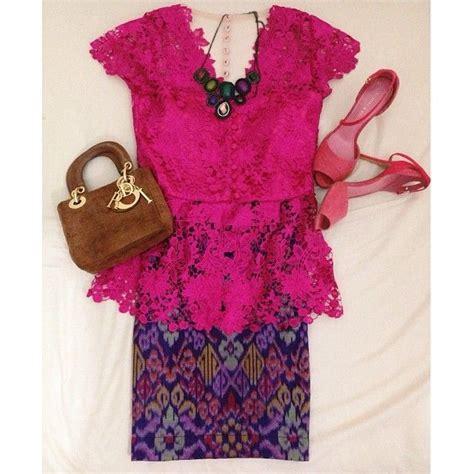 Kebaya Dress Batik Fuschia 17 best images about kebaya and batik indonesia on cape dress wrap dresses and baju